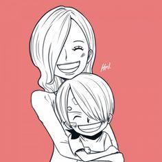 One Piece, Sanji, Sanji's mother