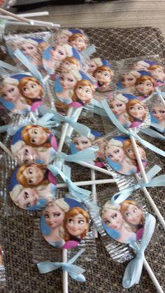 Frozen Disney Movie Olaf Lollipops Suckers with by Kidsized4u