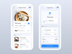 Hi Dribbblers! ♂️ I'm happy to share with you these additional screens for Food Delivery App. The application based on very extensive social media modules.  Stay tuned! -- Thanks for watching...