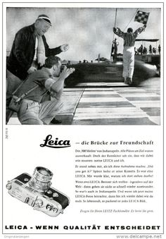 Original-Werbung/ Anzeige 1958 - LEICA KAMERA / LEITZ - WETZLAR - ca. 150 x 220 mm