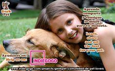 Compártelo para ayudarnos :) Share to help us #mascota #pet #startup #peru #petlover https://www.indiegogo.com/projects/geekpet-comunidad-de-pet-lovers/
