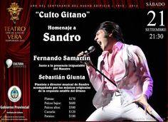 """""""Culto Gitano"""": Un Verdadero Homenaje a Sandro #ArribaCorrientes"""