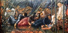 part of the Briar Rose series by Edward Burne Jones
