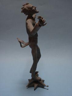 Figura del Joker. www.mccarte.wordpress.com Joker, Wordpress, Greek, Statue, Art, Templates, Art Background, Kunst, The Joker