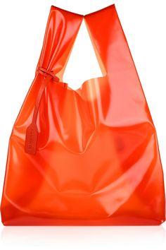 Jil Sander Paisley Pattern Perforated Market Bag in Soft Deer ...