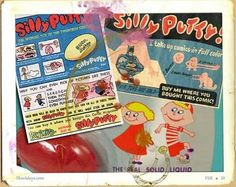 Silly Putty. Interesting history in this link.