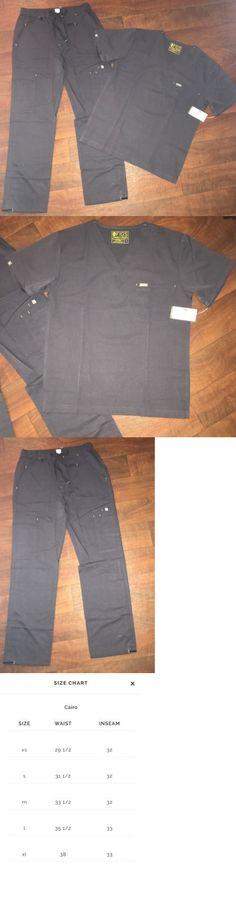 d9b9c882ba5 Sets 105432: Figs Mens Uniform Scrubs Set Size: Medium. (Charcoal Grey) Nwt  Cargo Pocket Pant -> BUY IT NOW ONLY: $65 on #eBay #uniform #scrubs #cargo  # ...
