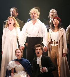 The cast of Les Miserables took their opening night bows last night. Congratulations to the company. Musical Theatre Broadway, Music Theater, Broadway Plays, Theatre Geek, Les Miserables Musical London, Madame Thenardier, Les Miserables Costumes, Jean Valjean, Sad Movies