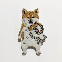 【pokefasu】ナマハ犬バッチ
