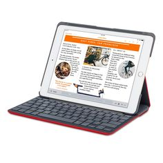 The Logitech Canvas Keyboard Folio Case protects your iPad Air 2, while letting…