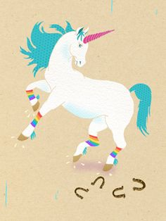 Even unicorns are ditching their shoes on April 29 for One Day Without Shoes!