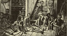 Complicity looks back to the 17th-century Puritan trade with the West Indies, when Yankee food, horses and wood sustained a Caribbean sugar industry that consumed slaves by the tens of thousands.Slave plantations in Rhode Island, Connecticut and New York supported that trade. So did the slave traders of Newport and Bristol, R.I., who in the 18th century carried rum distilled from West Indies molasses to Africa to trade for slaves at 150 gallons per man.