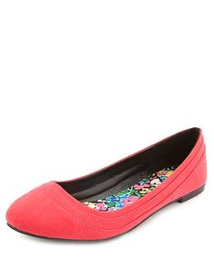 Qupid Layered Round Toe Ballet Flats: Charlotte Russe