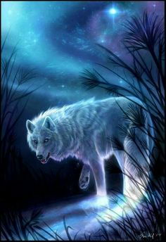 Spirit of the wolf, wolf protector
