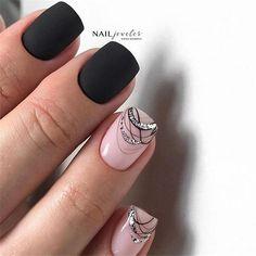 83 stunning nail art ideas~ - Page 24 of 83 Nail Desing nail designs p Art Deco Nails, Gel Nail Art, Acrylic Nails, Coffin Nails, Diy Nails, Cute Nails, Pretty Nails, Shellac Nails, Nailart