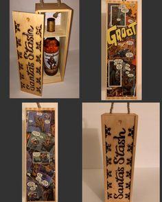 Because sometimes needs their own to get through the holidays. I Am Groot, Rocket Raccoon, Guardians Of The Galaxy, Custom Art, Comic Books Art, Christmas Presents, Giraffe, Nerdy, Santa
