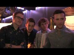 The McFly boys chat at Giovanna Fletchers book launch - YouTube