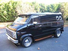 1978 Chevy show van