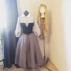 Briar Rose Aurora cosplay costume by SparklingTrail on Etsy