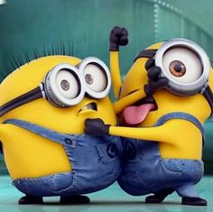 That's How me and my brother 😂 😂 Cute Minions Wallpaper, Minion Wallpaper Iphone, Cute Cartoon Wallpapers, Hd Wallpaper, Minions Images, Funny Minion Pictures, Minions Quotes, Funny Images, Funny Pics
