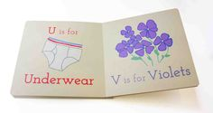 U is for Underwear,