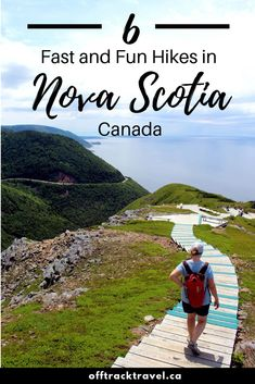 If you like day hiking, you'll be spoiled for choice in Nova Scotia. Here are six of our favourite fun and fast Nova Scotia hikes! Alberta Canada, Ottawa, East Coast Travel, East Coast Road Trip, Vancouver, Quebec, Backpacking For Beginners, Backpacking Trails, Cap Breton