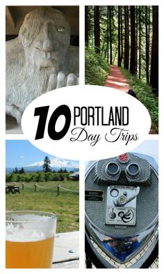 Portland Day Trips: Ideas for exploring the areas around Portland without springing for a hotel. Oregon Road Trip, Oregon Travel, Travel Usa, Beach Travel, Moving To Portland, Visit Portland, Portland Oregon, Travel Portland, Oh The Places You'll Go