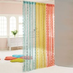 Colorful Curtain Divider                                                                                                                                                      More