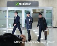 Hyun Joong - Llegando al Aeropuerto en Gimpo regresando de Japón 08.02.13
