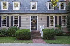 Exterior Colors Paint Colors And Modern Colonial On Pinterest