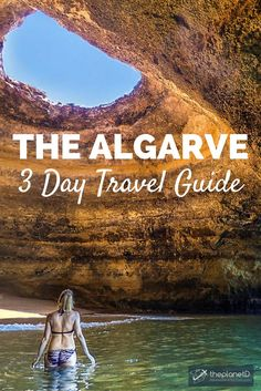 A 3 Day Guide to exploring the Algarve in Portugal. Best things to do in the area ranging from beaches to caves to grottos to road trips. Travel in Europe. | Blog by The Planet D: Canada's Adventure Travel Couple