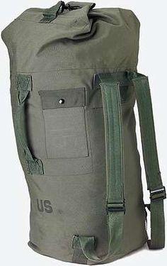 military-surplus duffel bags