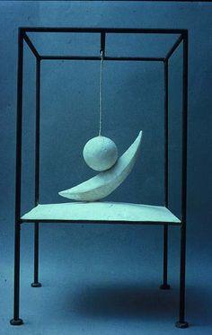 Suspended Ball (The Hour of the Traces), Alberto...Alberto Giacometti