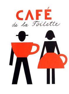 """""""Café de la toilette"""", Design: Jiří Slíva, Československá, 2011                                                                                                                                                      Más"""