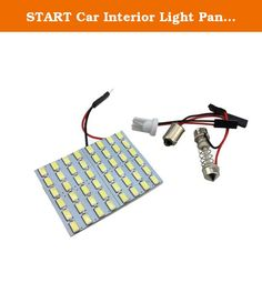 START Car Interior Light Panel 48 SMD LED T10 Dome Bulb BA9S Adapter 12V DC CG. ♥Package Content: 1x Car Interior Light Panel 48 SMD LED T10 Dome Bulb BA9S Adapter 12V DC CG ♥ Why choose our company? We have chosen logistics faster and better way to ensure that customers receive the goods as soon as possible ♥ Why choose our products? We have our own suppliers, our products are the best quality, but the price is very cheap.
