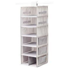 SVIRA Hanging storage with 7 compartments - IKEA