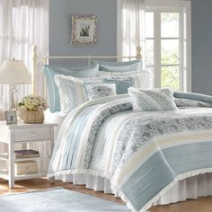 Chambery 180 Thread Count 100% Cotton Comforter Set