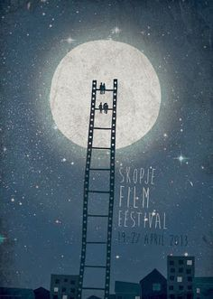 Film Festival Posters: Skopje Film Festival 2013 poster