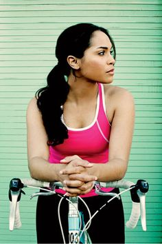 Monica Raymund: Straight Shooter http://www.bicycling.com/culture/people/monica-raymund-straight-shooter