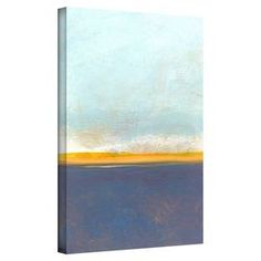 Abstract gallery-wrapped canvas wall art by Jan Weiss. Made in the USA.  Product: Wall artConstruction Material: CanvasFeatures: Made in the USA
