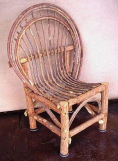 Playa Chairs - Wholesale Willow Patio Furniture - High Quality Outdoor Rustic Ranch Decor