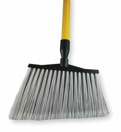 Synthetic-Fill Brooms Angle Broom,61 In. OAL,6In. Trim L by VALUE BRAND. $34.07. Angle Broom, Overall Length 61 In., Trim Length 6 In., Sweep Face 9 In., Bristle Color White, Handle Material Fiber