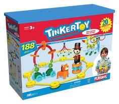 Tinkertoy Big Top Building Set