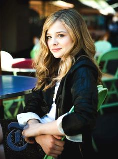 Chloe Grace Mortez as Cammie Morgan from the Gallagher Girl Series by Ally Carter