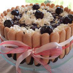 Real Women of Philadelphia member recipe: Black Forest Trifle Supreme Cheesecake
