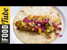 Kick-ass Fish tacos and Mango Salsa with DJ BBQ - YouTube