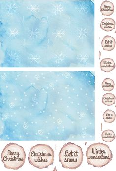 Free Winter Woodland Christmas printables from Papercraft Inspirations 157 - Papercraft Inspirations Woodland Christmas, Christmas Paper, Christmas Deco, Winter Christmas, Christmas Crafts, Dyi Crafts, Simple Crafts, Digital Scrapbook Paper, Digital Papers