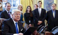 Trump resucita el proyecto de construcción de dos polémicos oleoductos