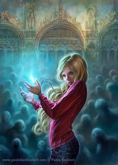 La chiave dell'Alchimista - I Sette Demoni di Venezia - Paolo Barbieri Art