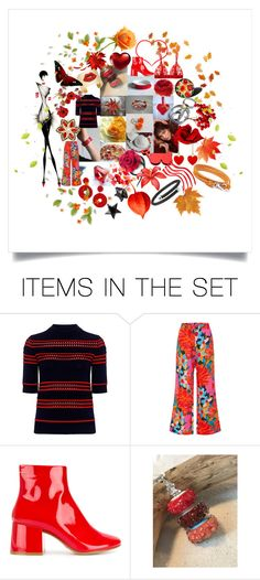 """Colorful Spring Collection"" by crystalglowdesign ❤ liked on Polyvore featuring art and modern"